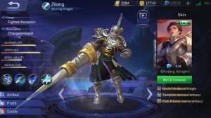 Shining Knight (Skin Elite Zilong)