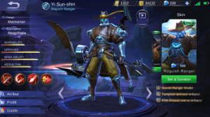 Roguish Ranger (Skin Elite Yi Sun-shin)