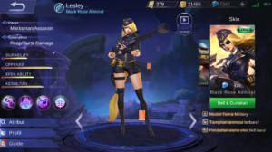 Black Rose Admiral (Skin Elite Lestley)