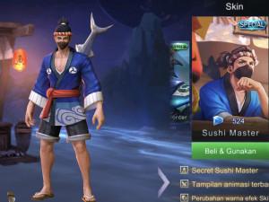 Sushi Master (Special Skin Hayabusa)