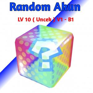 AKUN RANDOM PBGI LV 10 UNCEK ( V1 - B1)