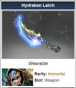 Hydrakan Latch (Immortal Slark)