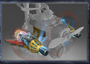 Atomic Ray Thrusters (Immortal Gyrocopter)