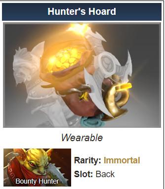 Hunter's Hoard (Immortal Bounty Hunter)