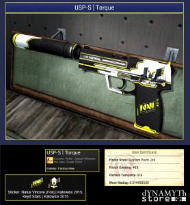 USP-S | Torque (Mil-Spec Grade Pistol)