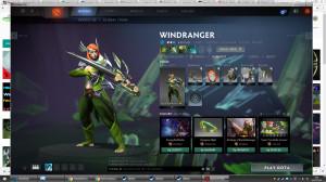 Falconside Armor (Windranger Set)