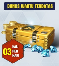Top Up 60 Diamonds Daily Special Offer