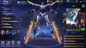 Akun Saber Legend Codename Storm | Emblem Max 2