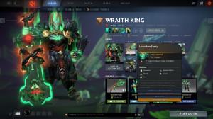 Unbroken Fealty (Immortal TI18 Wraith King)