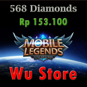 (iOS&Android) Top Up 568 Diamonds