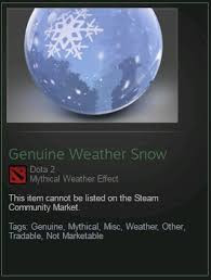 Genuine Weather snow