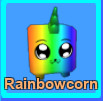 Mythical Pets (mining simulator) Rainbowcorn