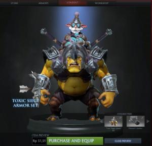 Toxic Siege Armor (Alchemist Set)