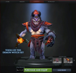 Tools of the Demon Witch (Lion Set)