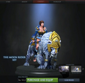 The Moon Rider (Mirana Set)