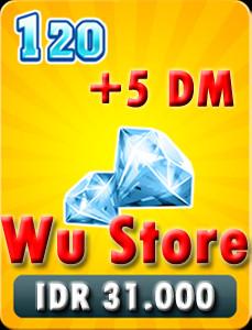 Top Up 120 Diamonds