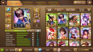 Idol Cupid + Pocahontas + Dark Kaguya dkk
