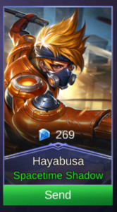 Spacetime Shadow (Skin Hayabusa)