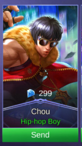 Hip Hop Boy (Skin Chou)