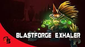 Blastforge Exhaler (Immortal TI7 Bristleback)