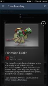 Prismatic Drake (Courier)
