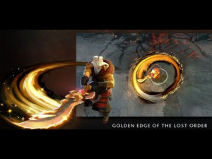 Golden Edge of The Last Order (Immortal TI8 Juggernaut)