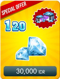 Top Up 120 Diamonds Daily Special Offer