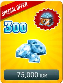 Top Up 300 Diamonds Daily Special Offer