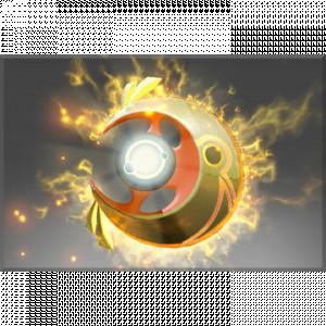 Inscribed Golden Moonfall (Immortal Luna)