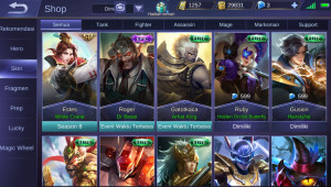 EPIC LIMITED ROGER AND OTHER SKINS AMAN, NYAMAN