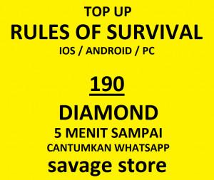 Top Up 180 Diamonds
