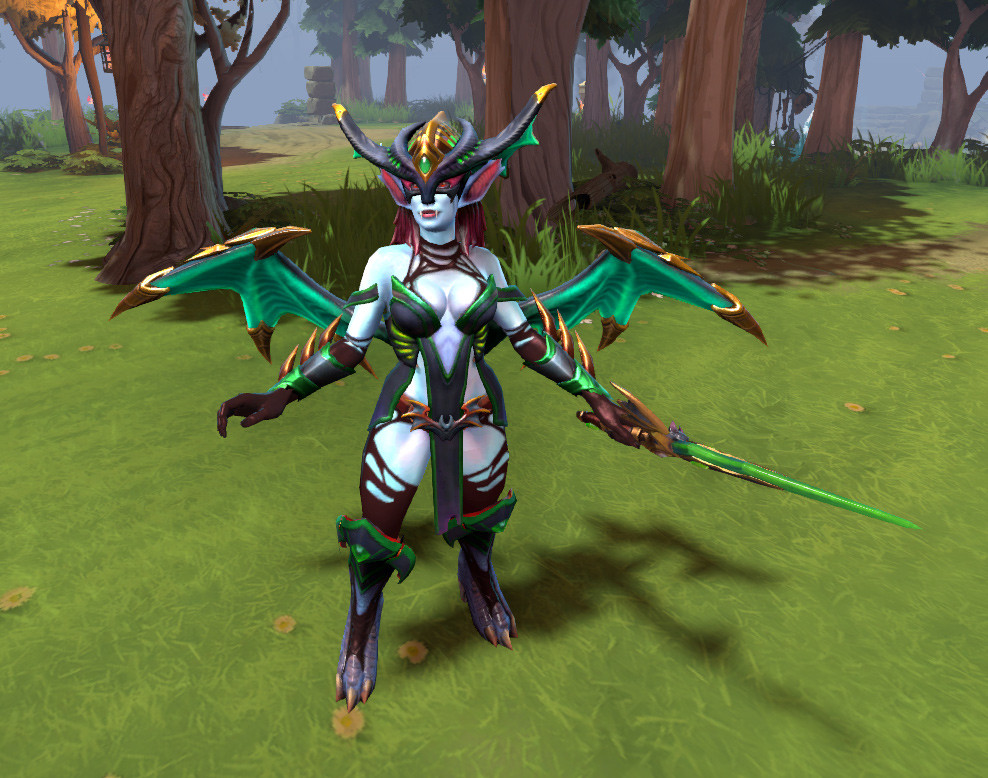 Raptures of the Abyssal Kin (Queen of Pain Set)