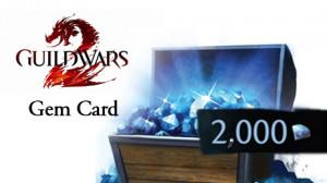 Guild Wars 2 - 2000 Gem Card