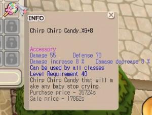 Chirp Chirp Candy (CCC) XG+8