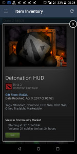 Detonation  (HUD Skin)
