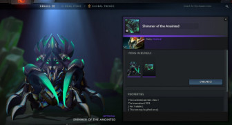 Shimmer of The Anointed (Cache TI8 Nyx Assassin)
