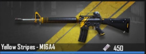 M16A4 - Yellow Stripes