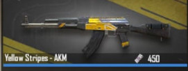 YELLOW STRIPES - AKM