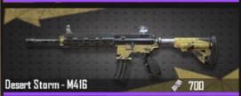 DESERT STORM - M416