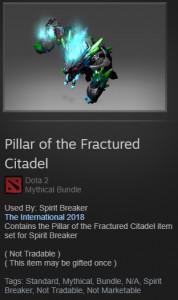 Pillar of the Fractured Citadel