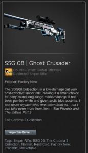 SSG 08 | Ghost Crusader