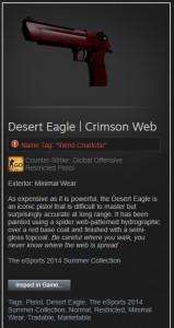 Desert Eagle | Crimson Web