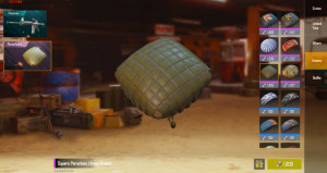 Square Parachute (Army Green)