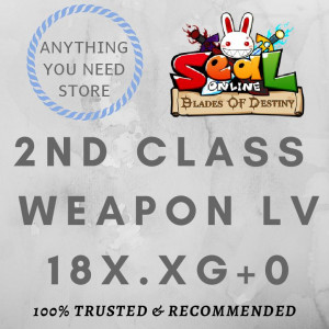 2nd Job Weapon 18x XG+0 unnap