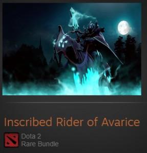 Inscribed Rider of Avarice (Abaddon Set)