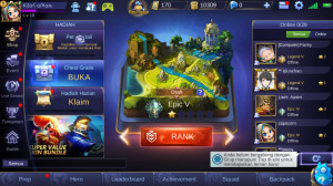 New Akun Murah || WIN RATE TINGGI || RANK EPIC