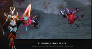 Bloodfeather Feast (Immortal TI8 Queen of Pain)