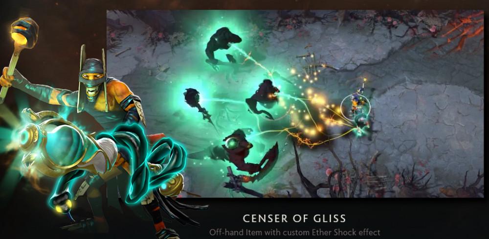 Censer of Gliss (Immortal TI8 Shadow Shaman)