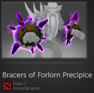Bracers of Forlorn Precipice ( Immortal Dark Seer)