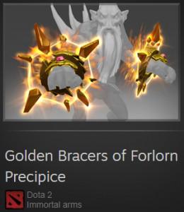 Golden Bracers of Forlorn Precipice